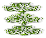 Shamrocks Clovers PNG Picture