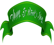 Happy St Patrick s Day Banner Clip Art