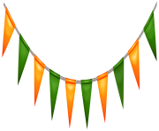 St Patricks Day Irish Banner PNG Clip Art