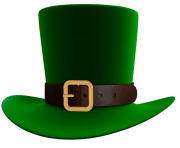 St Patrick Day Green Leprechaun Hat PNG Picture