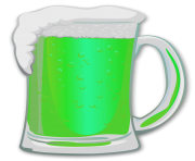 St Patrick Beer PNG Picture