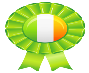 Irish Flag Decor PNG Picture