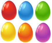 multiple easter eggs png image