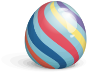 colorufl easter eggs png file