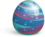 abstract easter eggs png picture