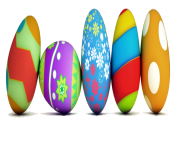 easter eggs png transparent