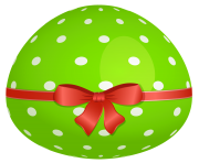 Green Easter Egg PNG Clipart Picture