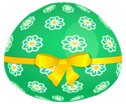 cute easter egg flowers png clip art