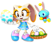 easter sonic the hedgehog png