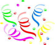Confetti clipart images