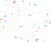 confetti line angle effect point png
