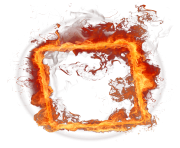 Fire Frame PNG Clipart min