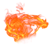 fire releasing heat png min