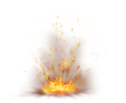 Firefox with Sparks PNG Clipart Picture min