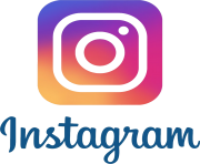 instagram icon with text logo png