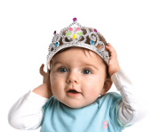 Cute Baby with crown