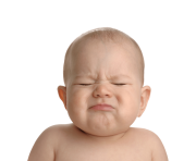 Baby Crying PNG Image with Transparent Background