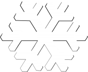 white snowflake png ice crystal 2