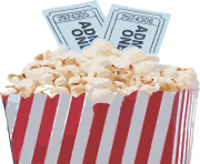 popcorn bowl png clipart 21