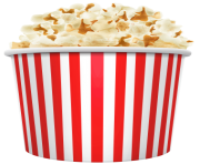 popcorn bowl png clipart 19