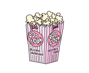 popcorn bowl png clipart 31