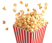 popcorn bowl png clipart 15
