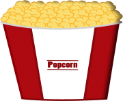 popcorn bowl png clipart 18