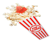 popcorn bowl png clipart 24