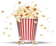 popcorn bowl png clipart 22