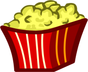 popcorn bowl png clipart 20