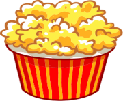 popcorn bowl png clipart 30