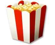 popcorn bowl png clipart 11