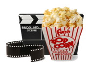 popcorn bowl png clipart 25