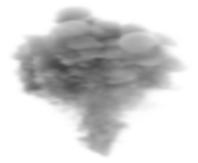 Large Smoke PNG Clipart Image