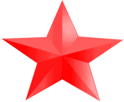 red star png 19