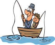 fishing cliparts june clipart