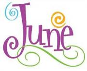 june wave colorful clipart