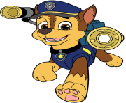 chase paw patrol clipart png 1