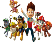 paw patrol all character png kids 10