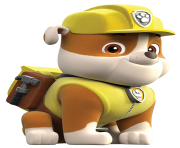rubble paw patrol png clipart 5