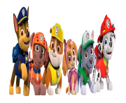 paw patrol all character png kids 1