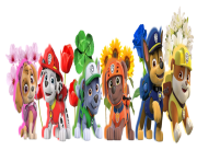 paw patrol all character png kids 4