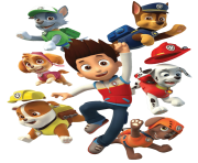 paw patrol all character png kids 6
