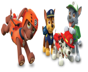 paw patrol all character png kids 18