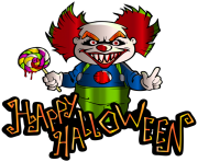 happy halloween text png 11