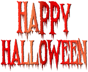 happy halloween text png 4
