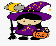 cute free halloween witch clipart