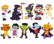 halloween costume kids clipart