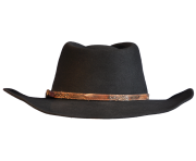 Black Cowboy Hat PNG