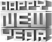 3D_Happy_New_Year_PNG_Clip_Art_Image